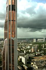 Медная башня Москва-Сити (kukushkin) Tags: башня сити вид hdr