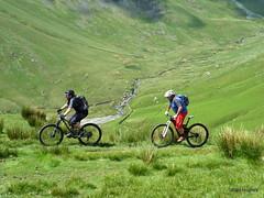 High St & Nan Bield Pass (55) (Carl and Sian) Tags: lakes lakedistrict carlandsian singletrack sian cumbria cycling bikes mountainbiking mtb alpine orangemountainbikes orange orangefive segment adventurebiking outdoors