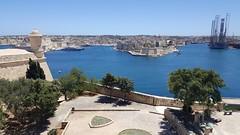 Grand Harbour, Malta. (Robert G Henderson (Romari).) Tags: samsung galaxy s6 mobile phone