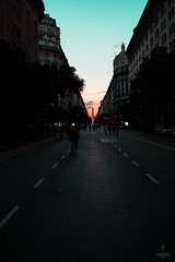 Punto de Fuga (Govinda John) Tags: punto de fuga puntodefuga bsas buenosaires obelisco street govindajohn