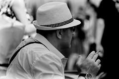 ROB_6229 (rofrhu) Tags: hut brille zigarette cool mann schwaz weis sw bw robert hummer roberthummer d7000 nikon