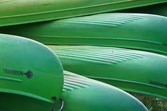 Kayaks (notFlunky) Tags: dordogne france lot aquitaine holiday south west la vezier sarlat montignac kayak canoe green prow bow stern st leon