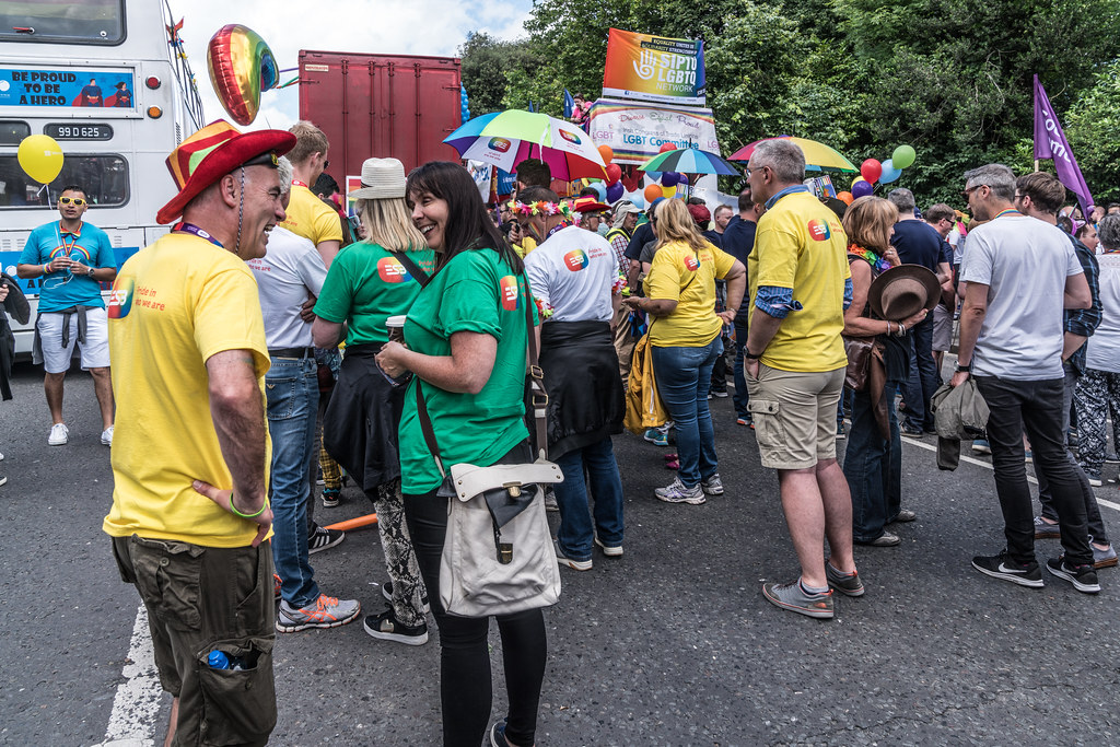 LGBTQ+ PRIDE PARADE 2017 [STEPHENS GREEN BEFORE THE ACTUAL PARADE]-129855