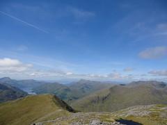 view from Sgurr a' Mhaoraich (Mr Trekker) Tags: scotland scottishhighlands mountainscenery mountains mountainridgewalk lochhourn knoydart