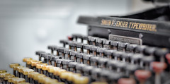 for true authors (Uniquva) Tags: diagonal old typewriter explored