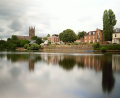 River Severn, Worcester (Ian Holmes TUP) Tags: riversevern worcester cathedral water outdoor longexposure reflection diglishotel nikon d5300 ndfilter river