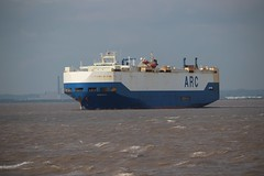 Resolve outbound from Royal Portbury Dock 22nd June 2017 (Portishead Point) Tags: resolve