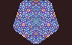Interleaving Pentagons (Bug Rodgers) Tags: girih goldenratio pentagon equilateral polygon geometry mathematics pattern