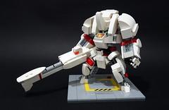 sd beta lancer03 (chubbybots) Tags: lego mech messymaru