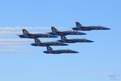 Heading Home (Michael Rickard) Tags: ocmd blueangels usnavy ocairshow oceancity airshow military