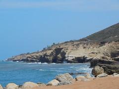 Tide pools (Rubén HPF) Tags: san diego sunset ocean pacific beach tide pool cabrillo gaslamp quarter santa fe depot trolley