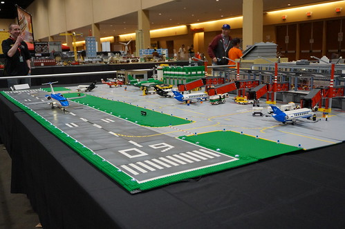 Moc Lego City Airport A Photo On Flickriver