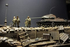 Battle for Berlin 1945 (DS ONE) Tags: military dioram berlin t3485 soviet army