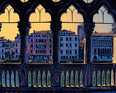 Pen and Ink Drawing of the Grand Canal Seen from the Ca' Rezzonico by Charles W. Bailey, Jr. (Charles W. Bailey, Jr., Digital Artist) Tags: carezzonico museum palazzo grandcanal canalgrande dorsoduro venice venezia veneto italy europe photoshop photomanipulation topaz topazlabs topazrestyle topazclarity alienskin alienskinsoftware alienskinexposure drawing ink penandinkdrawing art fineart visualarts digitalart artist digitalartist charleswbaileyjr