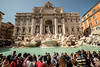 Touristic Roma (margaux1016) Tags: rome roma italy trevi trevifountain foutain people tourist travel nikon nikond750 nikonphotography wideangle