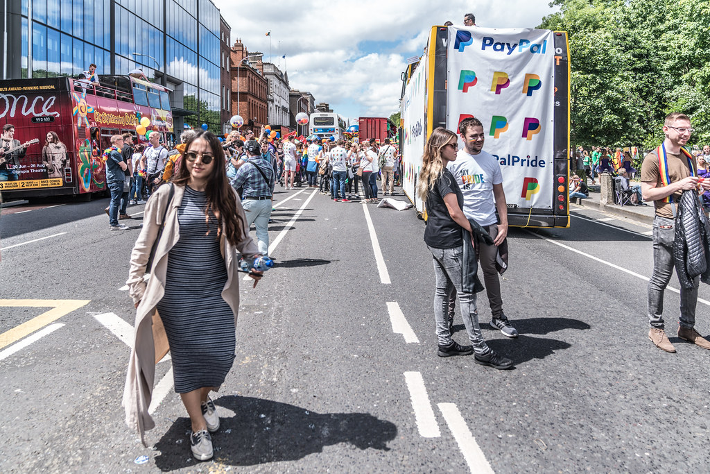 LGBTQ+ PRIDE PARADE 2017 [STEPHENS GREEN BEFORE THE ACTUAL PARADE]-129867