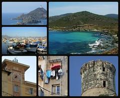Encore la Corse ( juin 2007) (France-♥) Tags: ajacio corse corsica france collage tourgénoise ilessanguinaires port travel memories