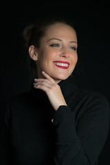 Angelina (topanh.com) Tags: angelina frau linz portrait porträt studio indoor lächeln portraiture smile woman
