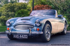 British Classic. Austin Healey 3000 Mk III (Nick Fewings 5 Million Views) Tags: automobile motor convertible wheels uk greatbritain british sport vehicle healey austin car