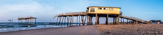 20170520 NC Frisco Pier-0118 (Dan_Girard_Photography) Tags: 2015 dangirardphotography outerbanks northcarolina beach sunrise pano frisco pier water sand
