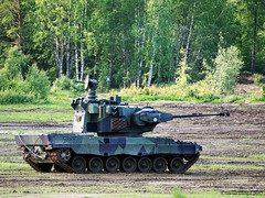 Finnish Armoured Division 75th Anniversary (markusmae) Tags: finland armoured division brigade tank 75th anniversary parolannummi panssariprikaati panzerphantom marksman antiaircraft leopard 2a4