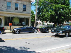 COOL CARS IN SAUGERTIES NY (richie 59) Tags: ulstercountyny ulstercounty newyorkstate newyork unitedstates sunday weekend automobiles autos motorvehicles vehicles generalmotors saugertiesny saugerties usa cars chryslercorporation richie59 carshow outside people chrysler oldsmobile summer mopar cutlass prowler oldsmobilecutlass 2017 july2017 july92017 chryslerprowler 2001chryslerprowler 2001chrysler 2001prowler 2010s hudsonvalley midhudsonvalley midhudson nystate us nys ny 2000scar americancar uscar 2door twodoor sideview frontend grill headlights gm gmcar street sidewalk buildings trees bluecar blackcar