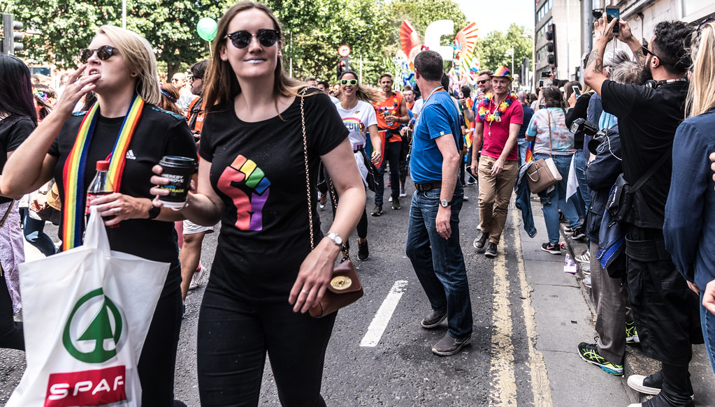 LGBTQ+ PRIDE PARADE 2017 [ON THE WAY FROM STEPHENS GREEN TO SMITHFIELD]-130015