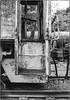 Loco Doorway (NoJuan) Tags: film 35mmfilm shootfilm nikon nikkormatel nikonfilmshooter 35mmf2nikkor railroad bw blackwhite blackandwhite kodakbw400cnfilm