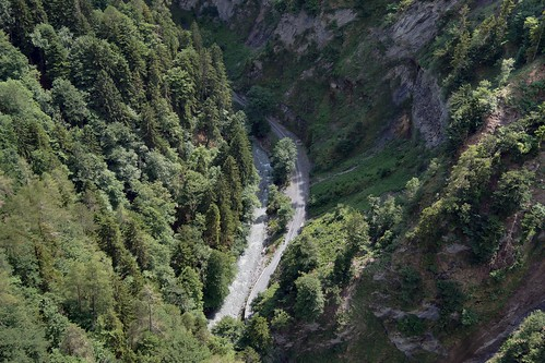 Tamina Valley - View from the Bridge