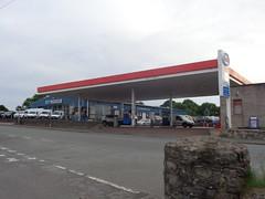 Esso - Dolwar Service Station, Y Ffor, Gwynedd 1 (christopherbarker13) Tags: esso exxon petrolstation garage ohgriffithco ford dolwarservicestation yffor gwynedd