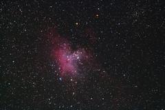 M16 Eagle Nebula (2017v.1) (AgostonAstro) Tags: astro astronomy night stars sky deepsky nebula longexplosure astrophoto space astrophotography messier
