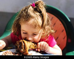 Photo accepted by Stockimo (vanya.bovajo) Tags: stockimo iphonegraphy iphone children earing girl toddler eating meat lamb childhood food ready eat 23 years lifestyles one person portrait real people girls close up
