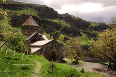 Jermuk and surroundings, Armenia (soupskotom) Tags: armenia jermuk landscape mountains spring creek river resort mineral trekking travel may monastery church