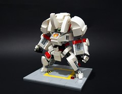 sd beta lancer01 (chubbybots) Tags: lego mech messymaru