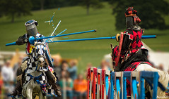 Jousting Tournament. (_Anathemus_) Tags: jousting tournament knight horse chivalry medieval middle ages lance sherborne castle dorset england uk nikon d750 riding armor action