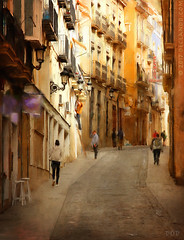 Villavieja - The Old Town (sbox) Tags: alicante spain españa buildings architecture painterly painting sbox declanod textures street urban
