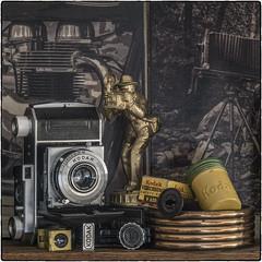 Kodak Still-Life (NoJuan) Tags: stilllife kodak retina cameraporn cameraportrait penf olympuspenf microfourthirds micro43 sankyokomura ltm manualfocuslensonmicro43 manualfocuslens fotodiox fotodioxadapter