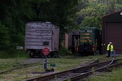 Tygart Run - Belington WV - (primemover88) Tags: speeder railcar narcoa appalachian elkins wv west virginia durbin greenbrier valley railroad excursion