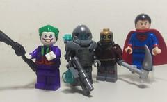 Update & new customs!!!! (ALP CUSTOMZ) Tags: legocustom superman scarecrow joker mrfreeze minifigures dccomics