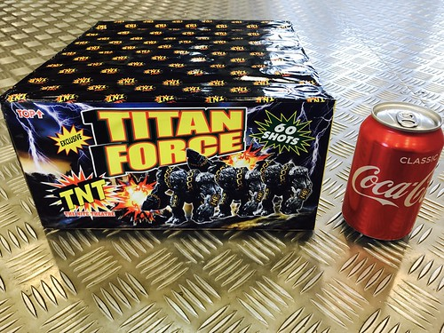 Titan Force 60 Shot Barrage by TNT Fireworks