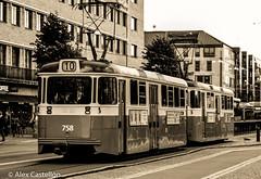 Travel on Tram (@acastellonm) Tags: sweden suecia gothenburg gotemburgo goteborg tram tranvía tren blanco negro black white
