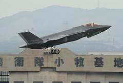 7003 (HottSpin) Tags: ax05 fighter f35a f35 mhi mitsubishi rjna airplane test flight 名古屋飛行場 三菱重工小牧南工場 三菱重工 lockeedmartin