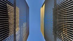 NY Manhattan IV (stega60) Tags: newyork ny manhattan street sky skyscraper windows reflection blue structur stega60 hdr