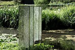 Glass Sculpture (Edd144) Tags: nikon d7100 50mm 18 nailsworth town villiage country countryside glass panels art sculpture water pane decoration decorative