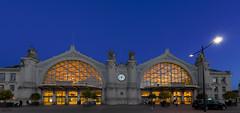 Gare de Tours (Sugarth/Photo) Tags: gare tours france heurebleue nikond610 nikkor1424mmf28 bluehour trainstation