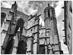 Cathedral of Barcelona Spain (Gail K E) Tags: gothic barcelona cathedral spain catalan architecture middleages catalonia españa medieval