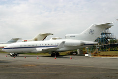 VP-BAB Boeing 727-76(RE)(WL) Marbyia Investments (pslg05896) Tags: vpbab boeing727 marbyiainvestments qla eghl lasham