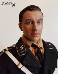 Leon  Musikkorps der SS Volume 1  SS ceremonial Unit Bugle/SS Snare Drummer (xsealpupx) Tags: doll 3r did action figure