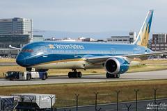 Vietnam Airlines --- Boeing 787-9 Dreamliner --- VN-A863 (Drinu C) Tags: adrianciliaphotography sony dsc rx10iii rx10 mk3 fra eddf plane aircraft aviation vietnamairlines boeing 7879 dreamliner vna863 787