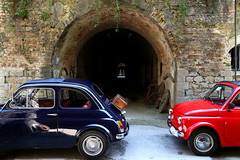 Happy Birthday Twins! (France53  . . . u t i n a m . . .) Tags: fiat compleanno fiat500 birthday 60annifiat500 60yearsfiat500 fortegazzera gazzera mestre 500